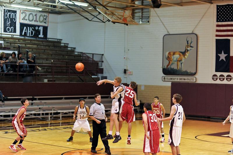 Antelope Basketball Freshman vs Friona 11-15-2010