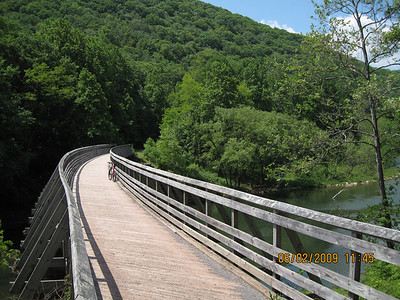 Biking in Monongahela National Forest West Virginia June 2009