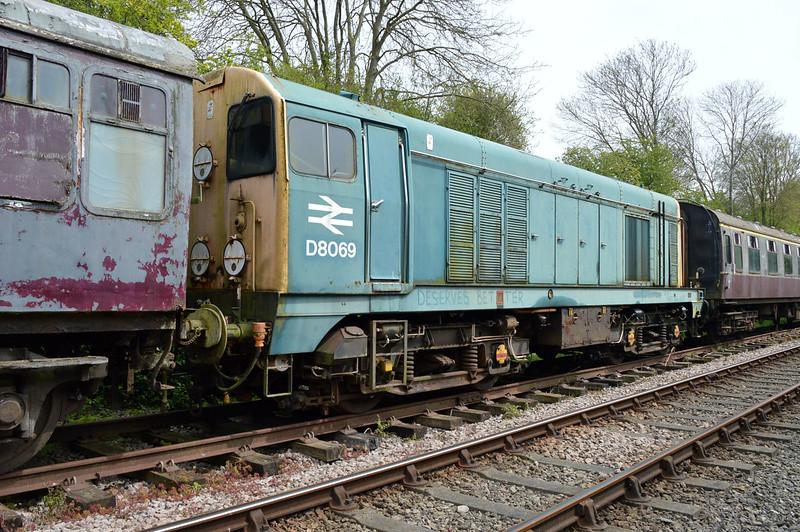 D8069 (20069) at Thuxton Sidings MNR.