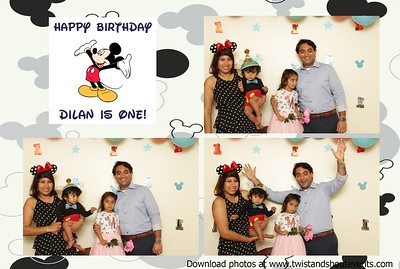 Dilan's First Birthday