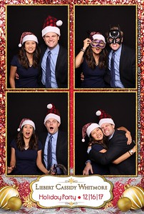 Liebert Cassidy Whitmore Holiday Party 2017