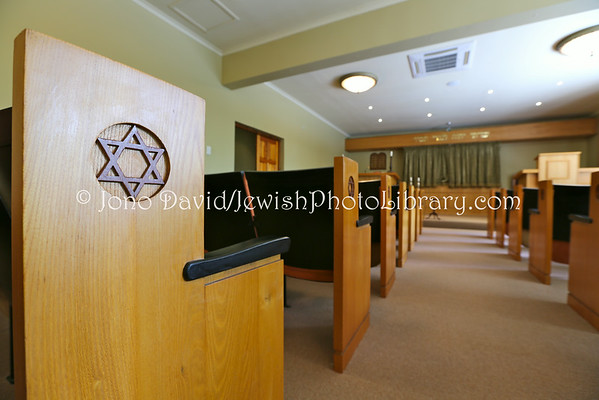 SOUTH AFRICA, Eastern Cape, East London. East London Progressive Jewish Congregation Synagogue (and George Schlachter Committee Room) (3.2013)