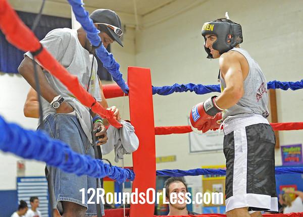 Bout #4  Kevin Bibbs (Youngstown) vs Dan Rosenburger (Warren)  155 lbs.
