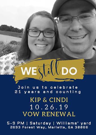 Kip & Cindi Wedding Renewal