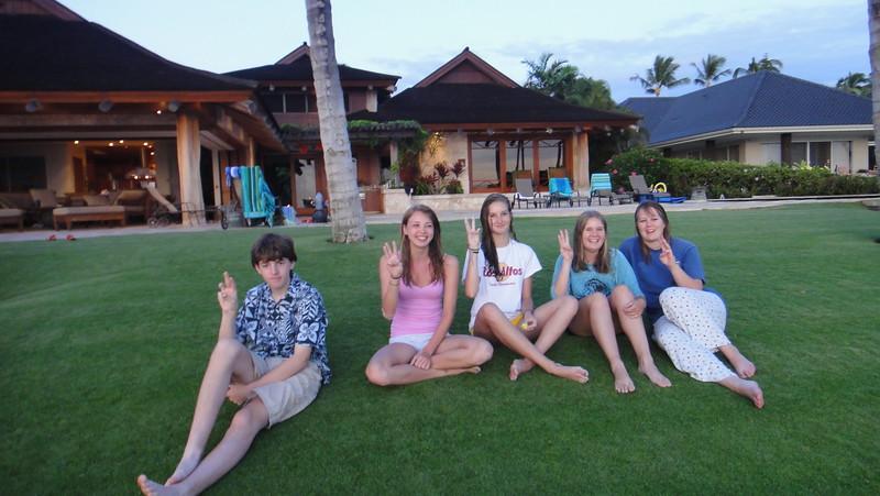2011-08-10-0005-Maui with Hahns-Hale Ohia-Jeremy-Elena Beaulieu-Elaine-Audrey-Jenni Cooper.JPG