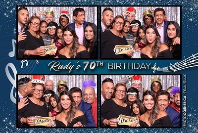 Rudy's 70th Birthday - 11-30-2019