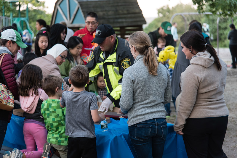 Pizza with Police at the Park 2019_ERF4505