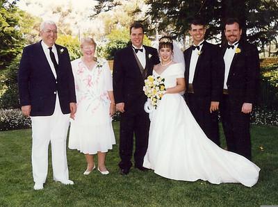 Dan & Rowena wedding 1998
