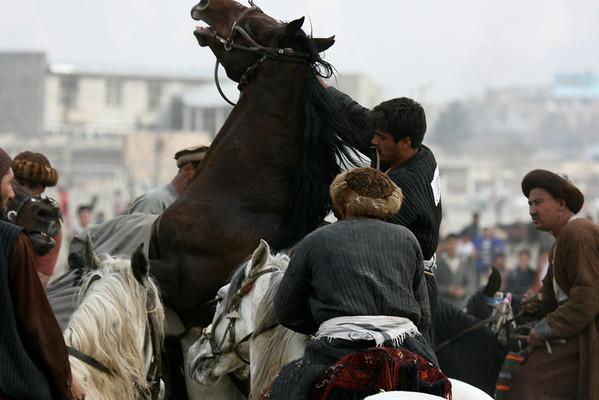 Afghanistan Kabul Buskashi