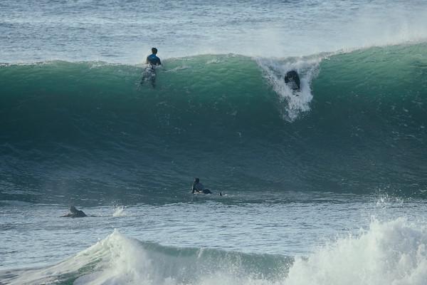 Markie Surfing Porthleven
