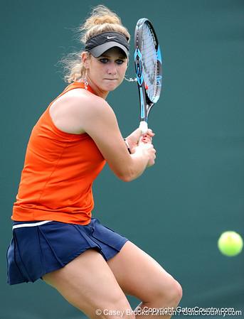 Photo Gallery: UF Women's Tennis vs. North Texas, 1/24/10