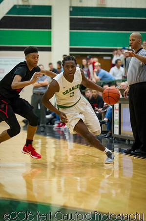 Dragons vs. Coppell 20160129
