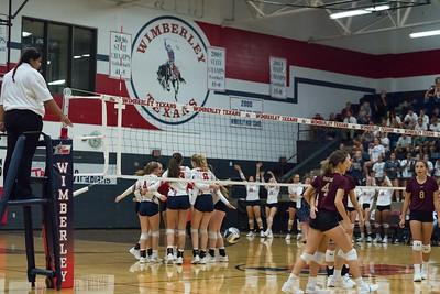8-28-18 Texan  Varsity Volleyball