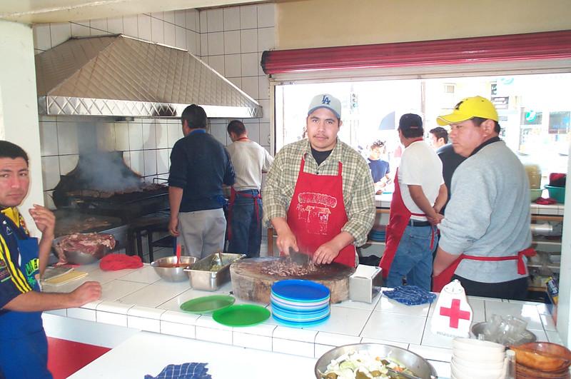 Kitchen of Los Amigos