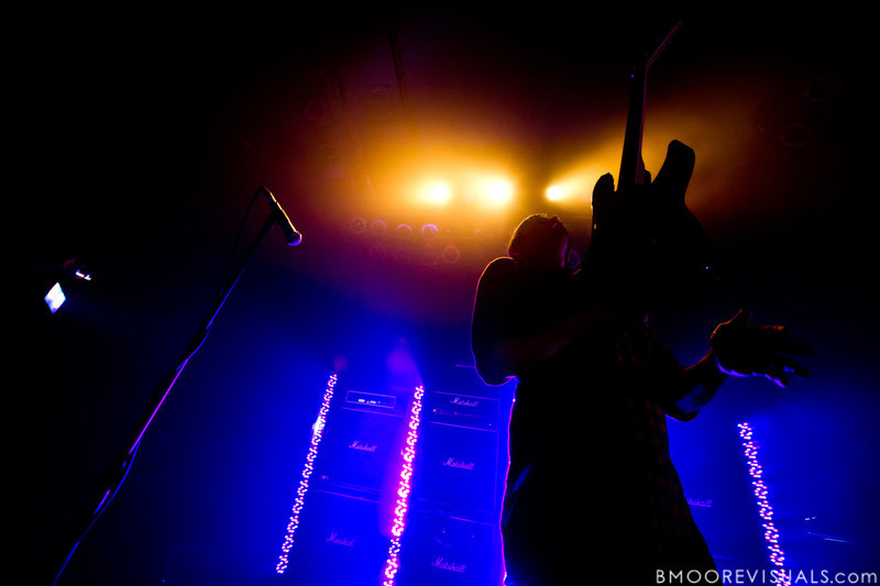 Derek E. Miller of Sleigh Bells performs for a sold-out crowd at State Theatre in St. Petersburg, Florida on April 29, 2011