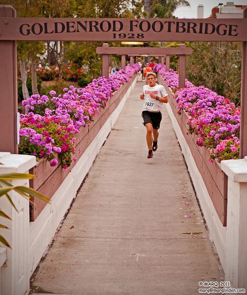 First Across the Bridge