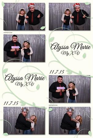 Alyssa's XV | Nov. 7th 2015