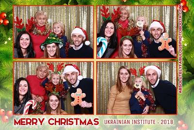 Ukrainian Institute's Christmas Party