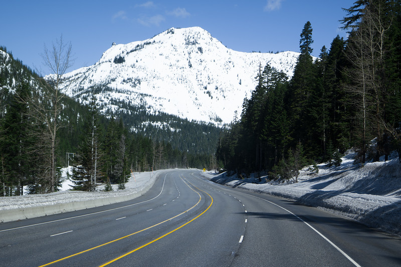Near Stephens Pass Summit