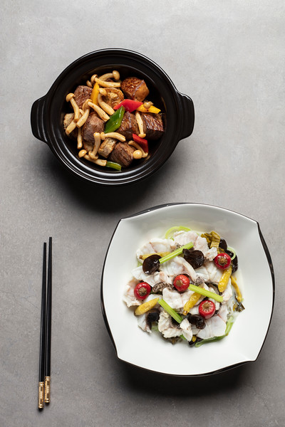 Ying Hin Club menu at City of Dreams, Macau.