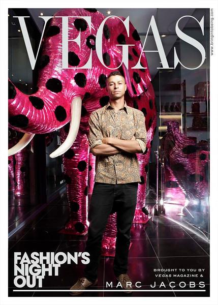 Marc Jacobs - Fashion's Night Out - Las Vegas, Nevada