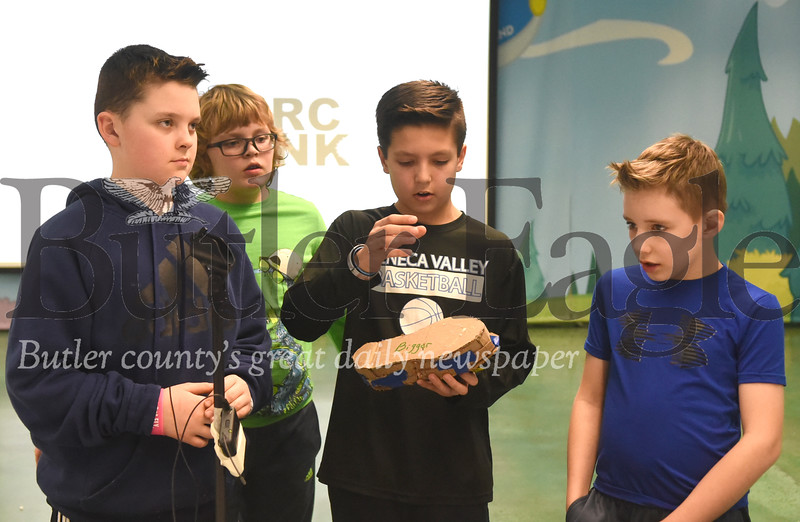 "83998 Haine Elementary school in Cranberry Twp hosted ""Shark Tank"" mock-up called CIRC Tank"