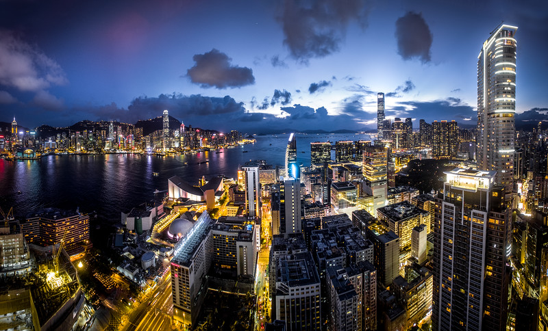 Twilight Over Hong Kong