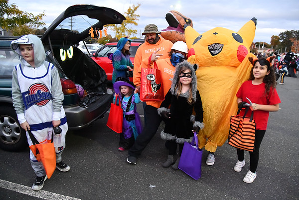 10/18/2019 Mike Orazzi | StaffrThe trunk or treat held at the Greene-Hills School in Bristol on Friday evening.