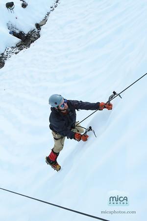 August 13 - Ice Climb with Scott
