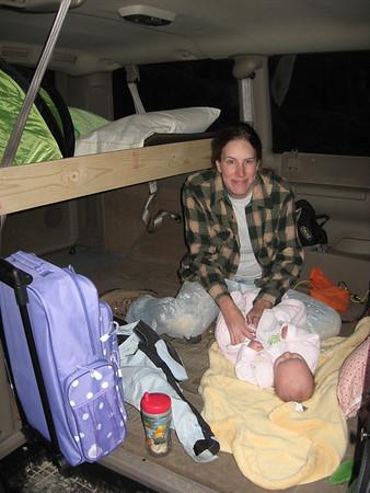 Klara's first campout May 2010 Buffalo Creek
