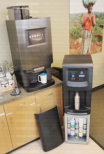 Tukwila, Washington based Agora has innovated areverse osmosis water filtration systems and a commercial whole bean espresso and coffee i-cup system