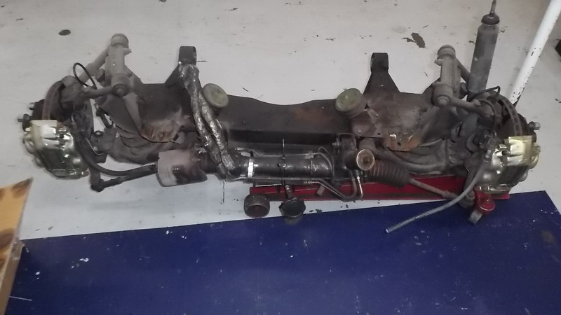 Original front suspension