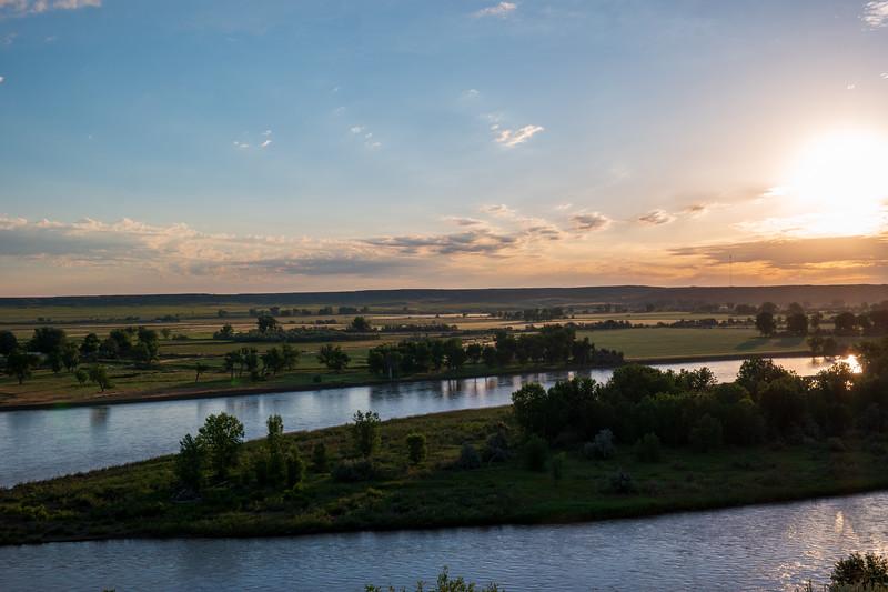 Montana Morning Yellowstone River