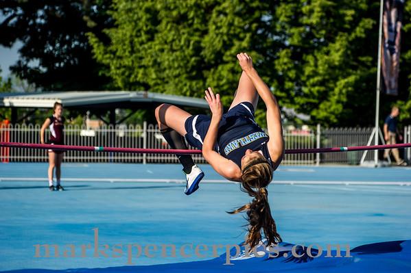 Track State Girls High Jump 2012