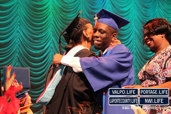 Gary West Side High School Graduation 2015