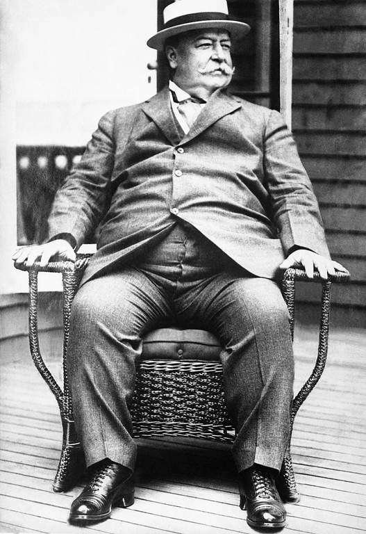 . William Howard Taft  shown in 1930 photo after he resigned as Chief Justice of Supreme Court due to illness. (AP Photo)