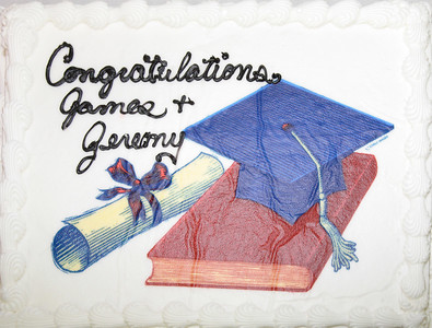 James' and Jeremy's Graduation