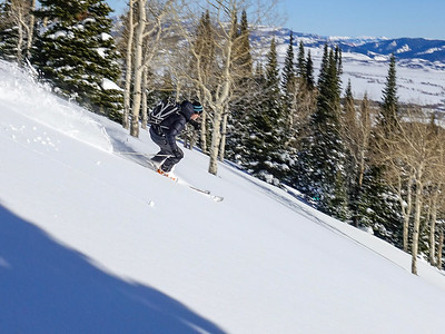 Intro to BC skiing
