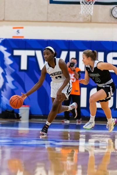 2021-01-09 -- Twinsburg vs Nordonia High School Girls Varsity Basketball