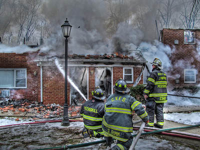 3-21-13 Mutual-Aid Structure Fire, City Of Peekskill