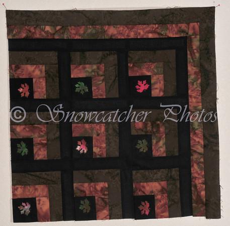leaf quilt