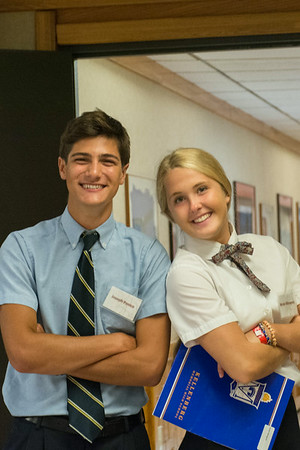 """Marianist Mentors working at Triple """"A"""" - 2014"""