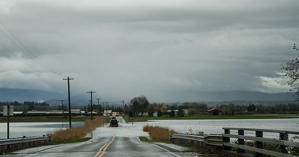 Camano Island and Flooding 11/22/17