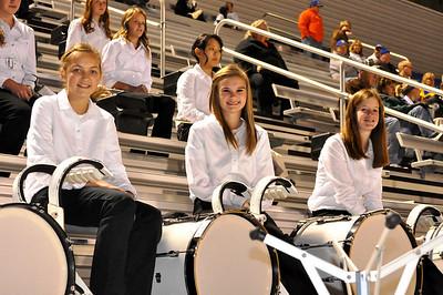 Senior Night Footballl game Nov. 4, 2011