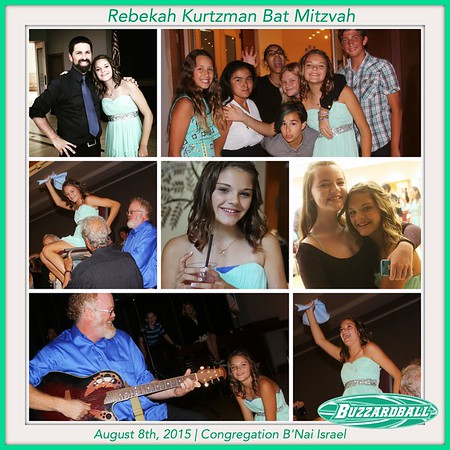 AUGUST 8TH, 2015 | REBEKAH KURTZMAN BAT MITZVAH