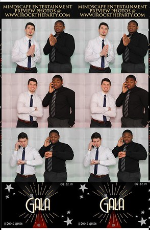 Azusa Pacific University Gala 2019 (Cube)- Photo Booth Pictures