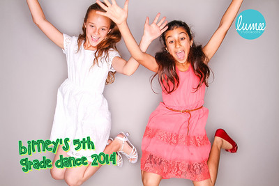 Birney's 5th Grade Dance 2014