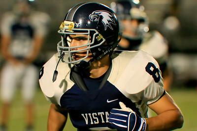 Varsity Football Vista vs Modesto 9-25-2009