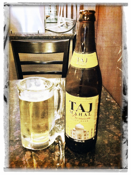 Mmmm.  Taj and Butter Chicken.