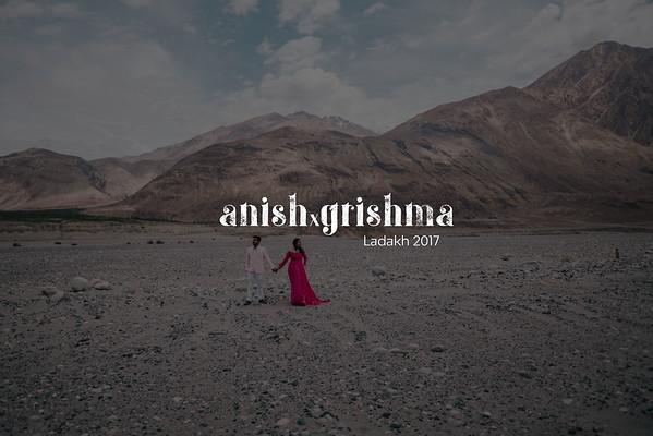 Anish Grishma | Ladakh 2017